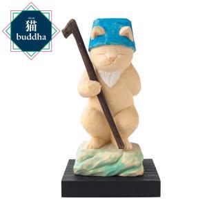 猫buddha 猫福神 寿老人