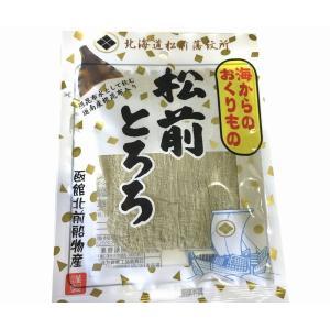 販売元:小田原うまいもの市場  フード・菓子、その他食品 松前 とろろ 18g入り 【とろろ昆布】味...