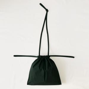 [ 再入荷 ]formuniform[フォームユニフォーム]Drawstring Bag S With Strap-ショルダー付巾着バッグSグリーン itempost