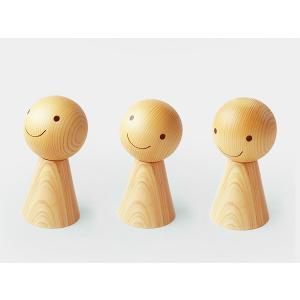 アロマディフューザー アロマオイル 木製 おしゃれ てる坊 の おにいちゃん てるてる坊主 水を使わない置物 木目 ウッド ヒノキ かわいい hi-count 玄関の画像