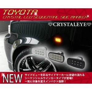 20系 プリウス 流れるウインカー シーケンシャル LEDサイドマーカー|itempost