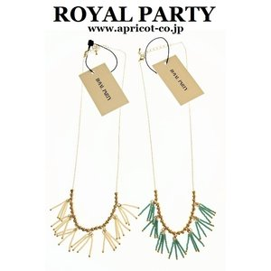 ROYAL PARTY『マットビーズネックレス』