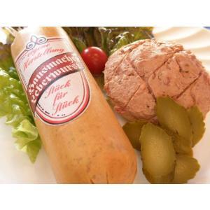・直送可 ●ビールのおつまみに荒挽き肉がゴロゴロ入ったレバーソーセージ●グローベレバーヴルスト
