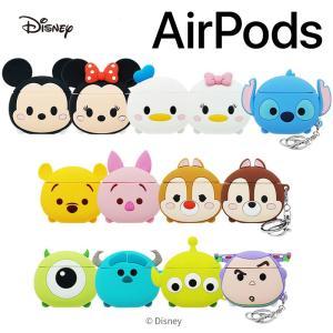 Airpods ディズニー airpodsケース ツムツム エアポッズ エアーポッズケース 通販 可...
