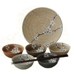 〔和皿・洋皿〕 山吹桜 取分けセット|itibei