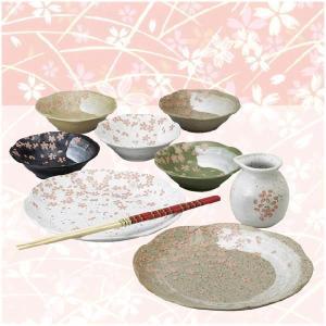 〔和皿・洋皿〕 花しらべ 天ぷら揃|itibei