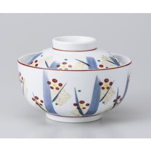 〔美濃焼 蓋物特選〕 手描き紅梅円菓子碗|itibei