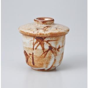 〔美濃焼 蒸碗〕 赤志野竹むし碗 |itibei