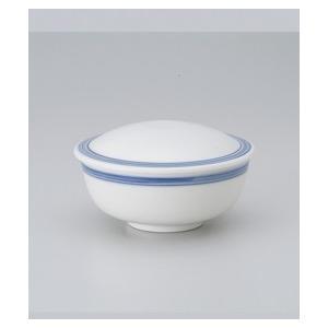 〔美濃焼 蒸碗〕 呉須ライン平むし碗 |itibei