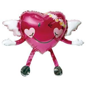 〔バレンタイン〕チャーミィパック バルーンバディ ラブキューピット(1枚) ×5|itibei