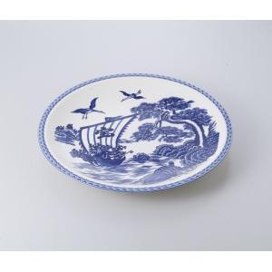 〔萬古焼 盛込皿〕  宝船12.0大皿|itibei