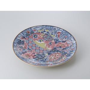 〔萬古焼 盛込皿〕  てまり 12.0大皿|itibei