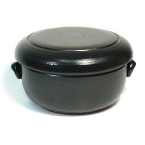 〔四日市万古焼 おひつ〕 冷蔵庫用陶器のおひつ 3合用|itibei