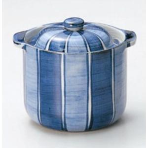 〔四日市万古焼〕 藍窯 とくさ 浅漬鉢|itibei