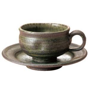 〔伊賀焼 カップ&ソーサー〕 杉森与平作 手作り碗皿|itibei