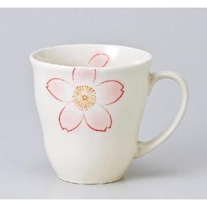 〔マグカップ 美濃焼〕染付山茶花マグ|itibei