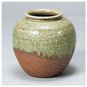 [花瓶(信楽焼)] 6号ビードロ(丸)|itibei