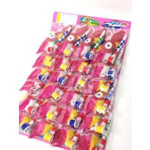 紙風船&巻き取り(24付) 〔台紙玩具〕|itibei