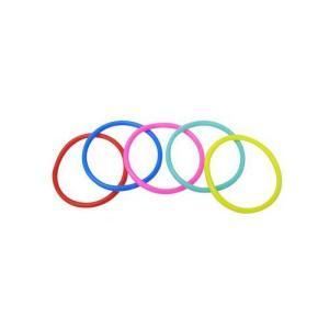 輪投げの輪・小(30本) ソフトタイプ 10.5cm 〔射的・輪投げ遊びセット〕|itibei