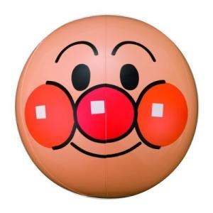 〔ビーチグッズ〕アンパンマン 顔ボール 25cm(1個)|itibei