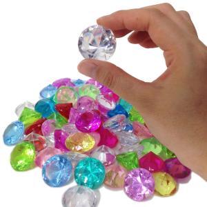 〔アクリルアイス〕 カラー宝石 ダイヤカットアイス  (500g)|itibei