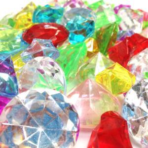 〔アクリルアイス〕 カラー宝石 カラー宝石 ダイヤ&アイスMIX (約1kg) itibei 02