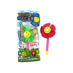 【景品玩具】ニコニコフラワーかざぐるま 25入|itibei