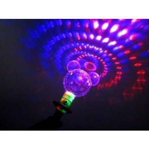 【光る玩具】フラッシュプリズムマウススティック 12入|itibei