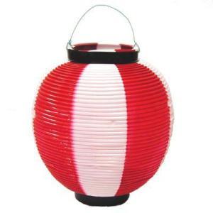 ポリ提灯〔紅白〕|itibei
