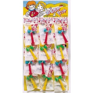 ケン玉 (12付) 〔台紙玩具〕|itibei