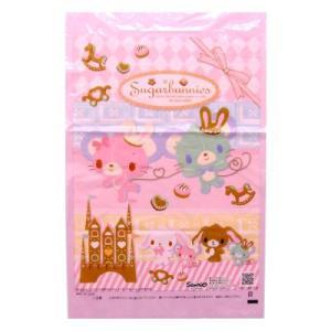 〔わた菓子〕綿菓子袋 シュガーバニーズ【2012ver】(100入)|itibei
