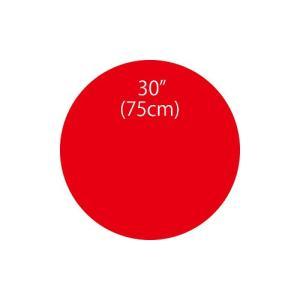 〔バルーン〕ジャイアントバルーンレッド 75cm|itibei