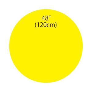 〔バルーン〕ジャイアントバルーンイエロー 120cm|itibei