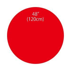 〔バルーン〕ジャイアントバルーンレッド120cm|itibei