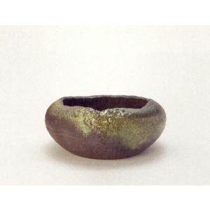 〔信楽焼 水鉢〕 潤 jun|itibei