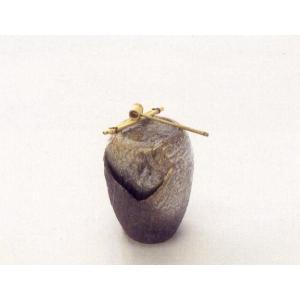 〔信楽焼 つくばい・蹲〕 泉 IZUMI (竹杓付き)|itibei