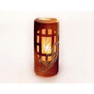 〔信楽焼 陶照明・灯り〕 夕月夜燈 YUZUKIYA NO AKARI (屋外用)|itibei