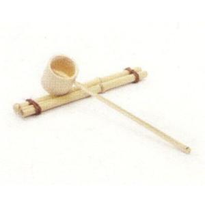 〔信楽焼 水鉢 竹杓〕 竹杓(小)|itibei