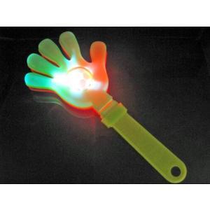 【光る玩具】光るパチパチハンド 12入|itibei