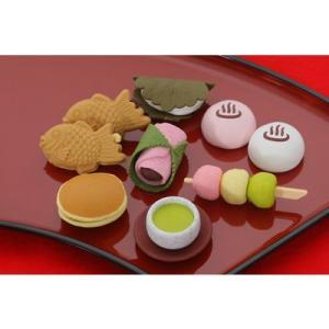 〔おもしろ消しゴム〕 No,1和菓子消しゴム(60入)|itibei