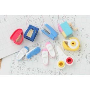〔おもしろ消しゴム〕  学校の消しゴム(60入)|itibei