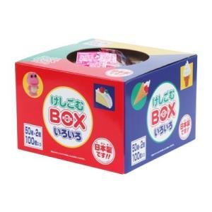 〔おもしろ消しゴム〕けしごむBOX いろいろ100(1箱)|itibei