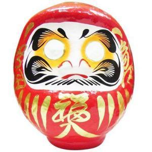 赤張子だるま 6号(1個)|itibei