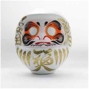 白張子だるま 6号(1個) itibei