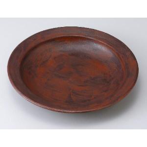 〔パスタ皿 美濃焼〕根来 リム付大盛り皿|itibei