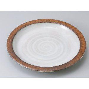 〔パスタ皿 美濃焼〕粉引白うのふ8.5吋パスタ皿|itibei