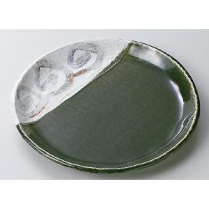 〔パスタ皿 美濃焼〕織部ライン9.0丸皿|itibei