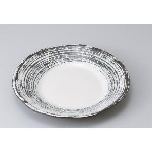 〔パスタ皿 美濃焼〕粉引くしめ8.0皿|itibei
