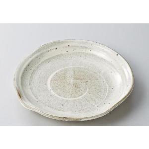 〔パスタ皿 美濃焼〕渦刷毛片口大皿|itibei