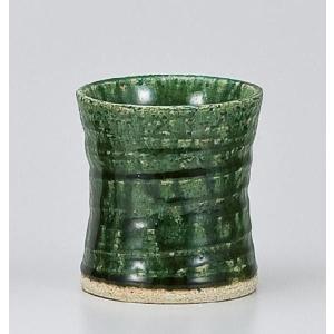 〔フリーカップ 美濃焼〕 織部 ロックカップ itibei